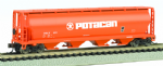 Bachmann 19157 Canadian 4-Bay Grain Hopper Potacan